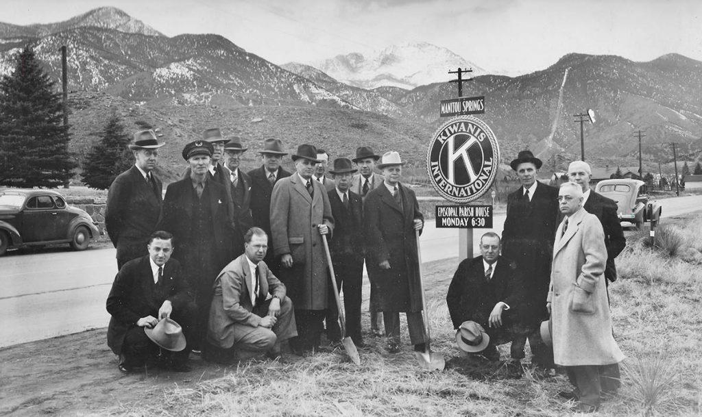 1940 Kiwanis Marker